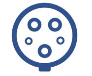 Typ 1-Stecker für Wechselstrom Laden